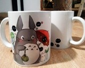 Totoro and friends - Coffee mug