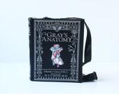 Gray's Anatomy Book bag leather bag