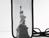 Eyeglass Case with Vintage Photo: Statue of Liberty, c. 1940