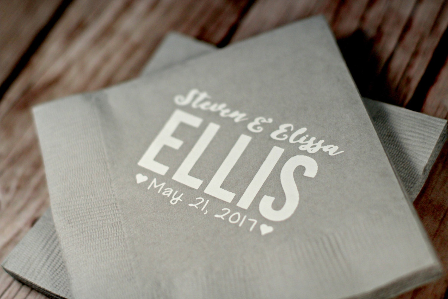 custom napkins wedding napkins personalized wedding napkins