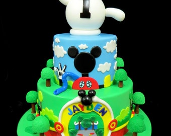 Mickey Mouse Clubhouse Cake Decorations: Everything You Need To Decorate This Mickey Mouse Clubhouse Birthday Cake