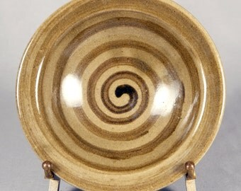 Willem Gebben small Studio Pottery Bowl with spiral interior