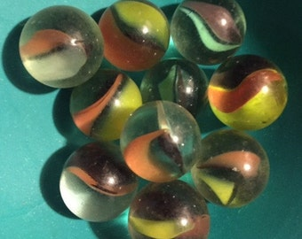 Catseye Marbles, Vintage -- VK390