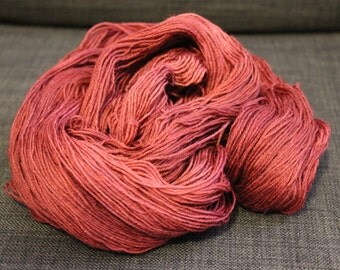 Hand Dyed Yarn, Sock Yarn, Fingering Weight Yarn (Superwash Merino Wool & Nylon): Bloody Hell - Ready to Ship