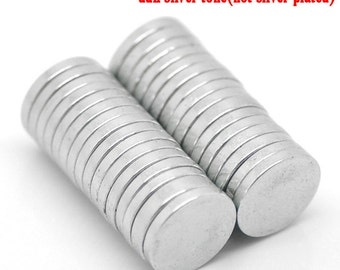 "20 Magnets Neodymium - WHOLESALE - HEAVY Duty - 10mm - 3/8""  - Ships IMMEDIATELY from California - A484b"