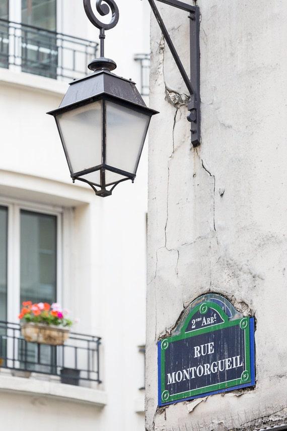 Paris Photography Rue Montorgueil Architectural Fine Art