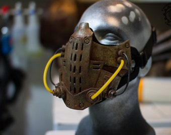 Xenogeist - Cyberpunk dystopian mask ''Depravity'' Variant. - Ready to ship