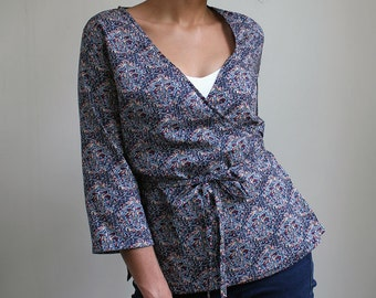 ESSENTIAL WRAP SHIRT sewing pattern