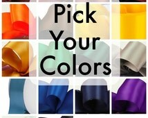 Pick Your Own Colors Ribbon Bunting - Graduation Bunting - School Colors Bunting - Football Bunting - 10% off Party Supplies Coupon