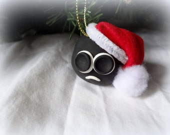 "Give the gift of ""Cole"" One Christmas Ornament Custom Made coal"