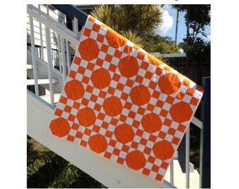 Sunny Snowballs Baby Quilt - PDF pattern