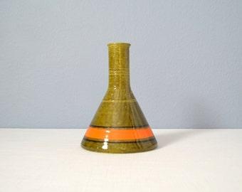 Vintage Mid Century Baldelli Italian Ceramic Vase
