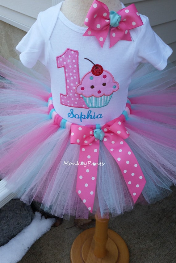 1st Birthday Girl Outfit Baby Girls Sprinkles Party Tutu