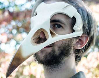 Corvid Skull Mask