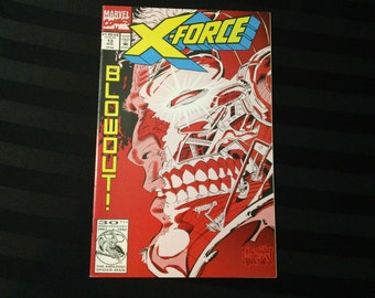 X-Force #13 (Marvel Comics Group,1992) vintage 90s back issue comic book