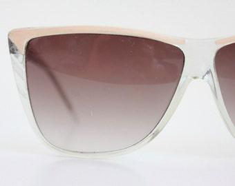 Vintage 80's Oversized Sunglasses Frames