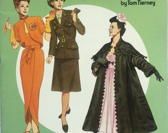 Paper Dolls Forties Great Fashion Design in Full Color Haute Couture