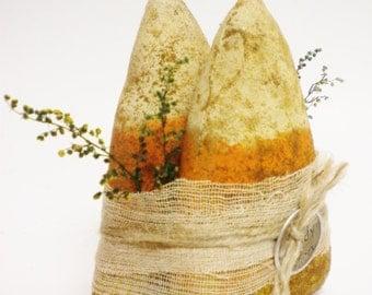 Primitive Candy Corn - Made To Order, Halloween Decor, Fall Decor