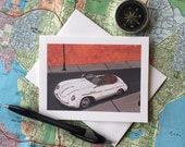 Porsche| Birthday Cards| Classic Car Cards| Classic Porsche| Birthday Cards for Him| Greeting Cards| My Sentiments Exactly