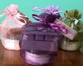 Lovely Lilac Gift Set - Spa Gift Set with Lilac Soap, Shea Butter and Soy Wax Melts, Spa Kit in Gift Bag