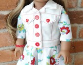"""18"""" Doll Clothes Back To School Outfit for American Girl Lea Clark"""