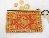 Kilim purse, Kilim rug purse, Ethnic purse, Carpet bag, Anatolian Motifs, Fabric Wallet, Exotic Fabric Pouch, Wedding Gift