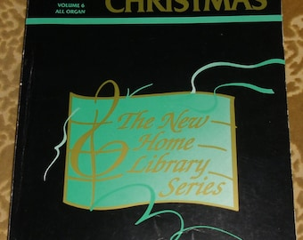 Vintage Music - The Great Songs & Carols of Christmas, Volume 6 All Organ, The New Home Library Series, 1990