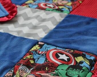 Marvel Avengers Blanket