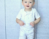 baby boy blessing/christening outfit, baby onesie, baby blessing bodysuit, baby christening bodysuit, leggings, cute baby bodysuit,