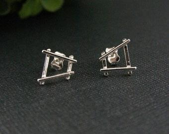 Circus Sterling Silver medium earrings