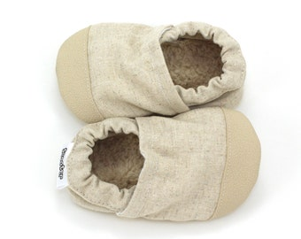Handmade soft sole shoes for babies and toddlers by ScooterBooties