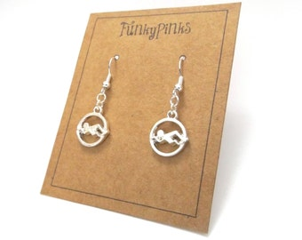 Swimming Earrings, Swimmer Earrings, Swimming Jewellery, Swimmer Jewelry, Swimming Gift, Sports Earrings, Olympics, Team GB