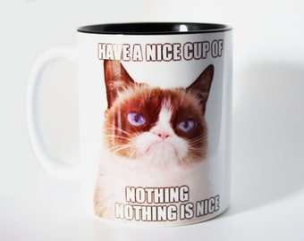Grumpy Cat - Nothing Is Nice - Mug