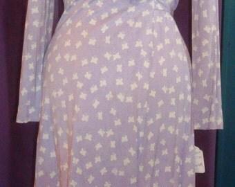 Vintage Diane Von Furstenberg butterfly print wrap dress