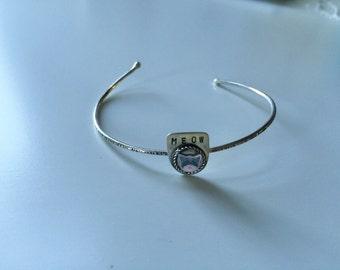 MEOW cat bracelet