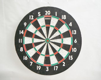 Vintage Double-sided Dart Board