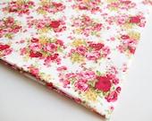 Red Velvet Rose in the Garden, English Rose Bouquet, Wedding, flower bunch, Lady Dress, pillow, Bag, Kitchen Curtain, Flower Themed, CT480
