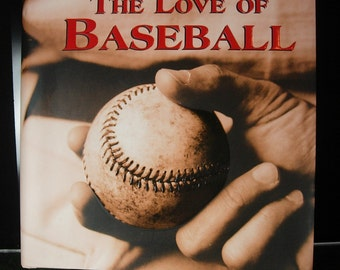 For the Love of Baseball Book Great gift for men Sports fan Groomsman gift dads Birthday Sports fan Hardcover 321 pages