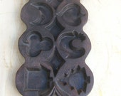 Cast Iron Multi Holiday Themed Mold