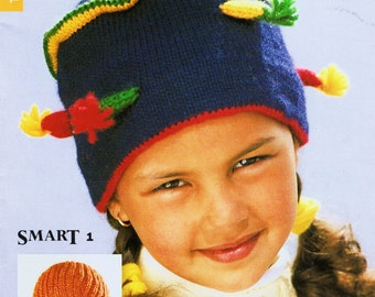sandnes luer Knitting & Crocheting Magazine for Fabulous Winter Hats and More in English - 52 Designs for Women, Girls, Boys Knit Supplies