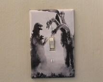 Godzilla Decorative Light Switch Cover Plate