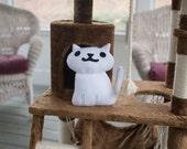Neko Atsume Inspired White Kitty