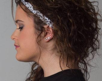 Skinny Headband - Skinny Elastic - SOCCER