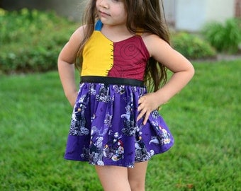 Boutique Sally dress,  Nightmare Before Christmas Photography, Pageant, Birthday sizes 12m-5T
