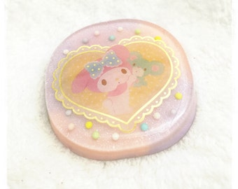 Sweet My Melody Resin Charm - Keychain / Necklace