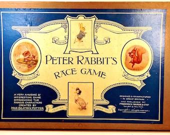 Peter Rabbit's Race Game Beatrix Potter Publisher Frederick Warne & Co. Ltd., ca 1945