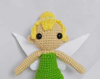 Amigurumi Tinkerbell Crochet Doll