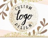 Custom Hand Drawn Logo Design Ooak for Photographer Photography Studio Boutique Small Business