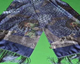 Scarf Silk HOLLAND & HOLLAND LONDON Hand Made Italy