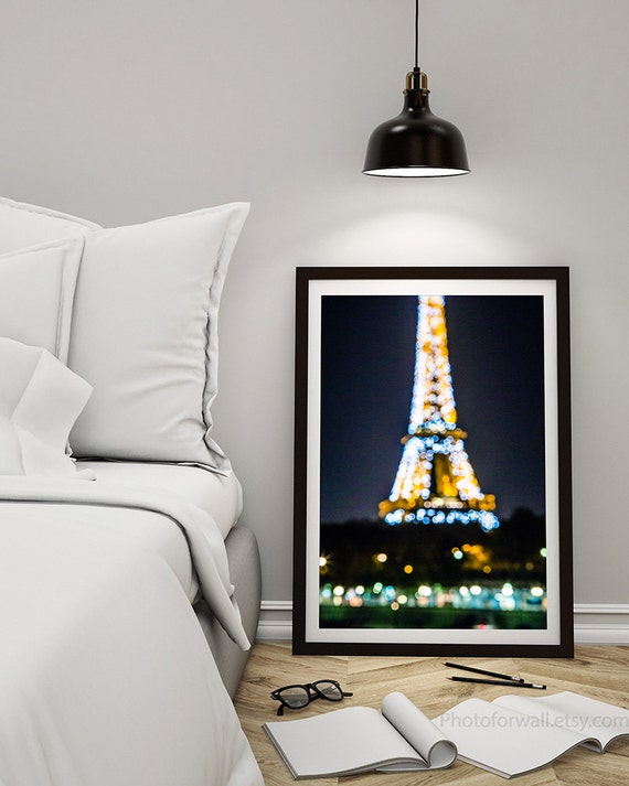 paris photography at sunset eiffel tower bokeh photography. Black Bedroom Furniture Sets. Home Design Ideas